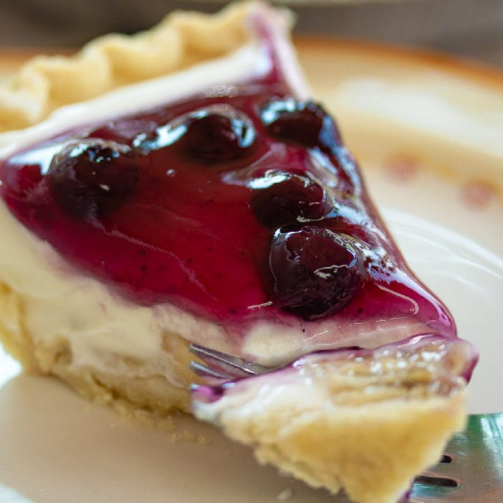 Banana Blueberry Cream Pie