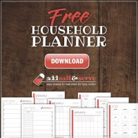 Add Salt & Serve Free Printable Planner
