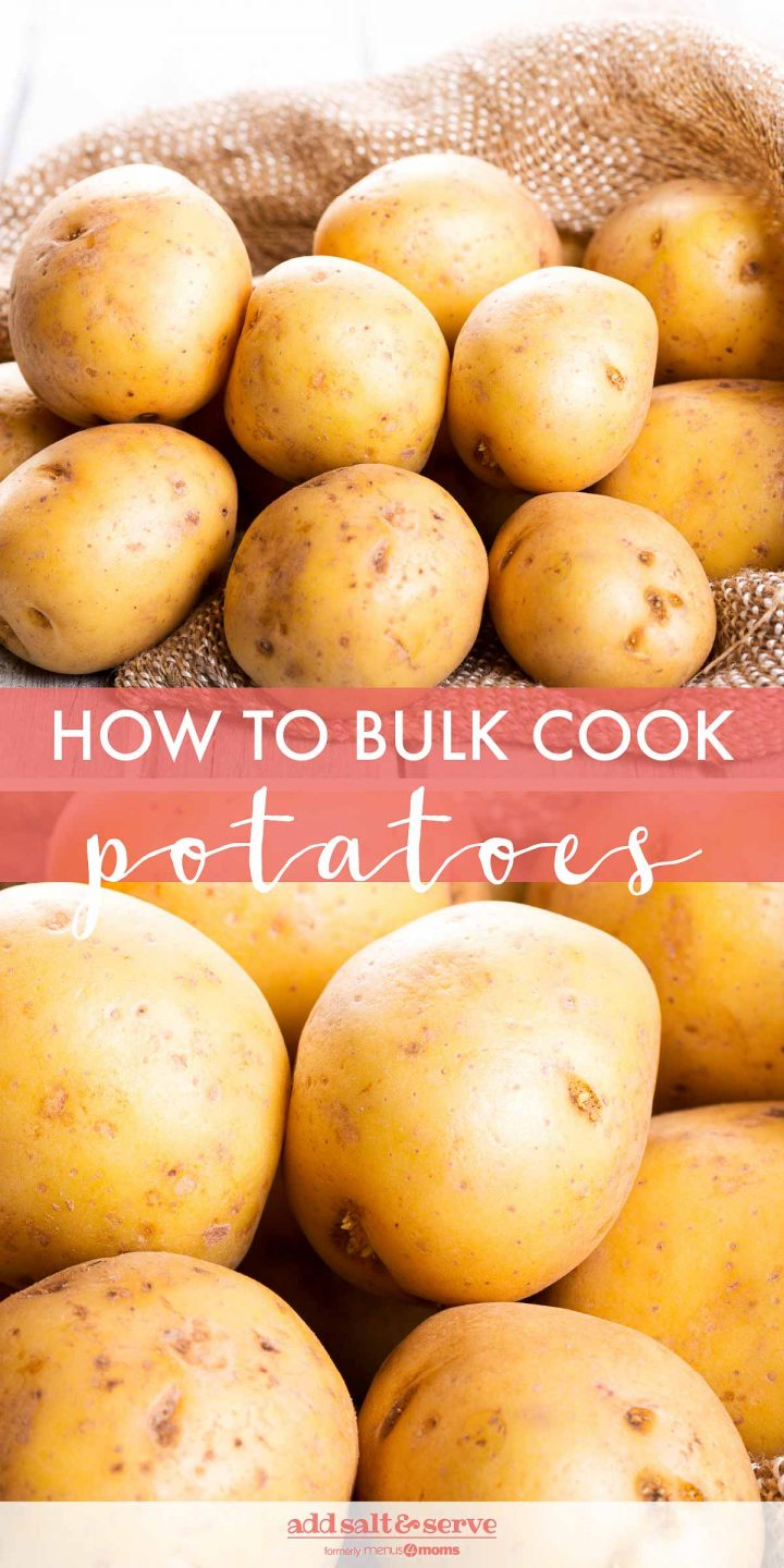 The Potato Plan (Bulk Freezing Potatoes)