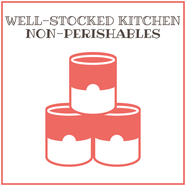 Well-Stocked Kitchen: Non-perishables