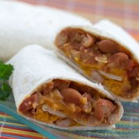 Vegetable Burrito Recipe