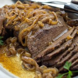Easy Crockpot London Broil