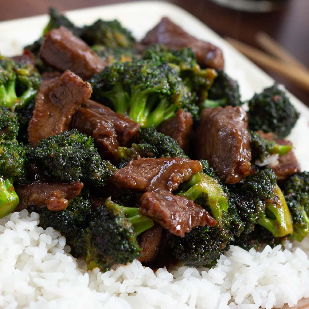 Easy Beef with Broccoli using Leftover Steak