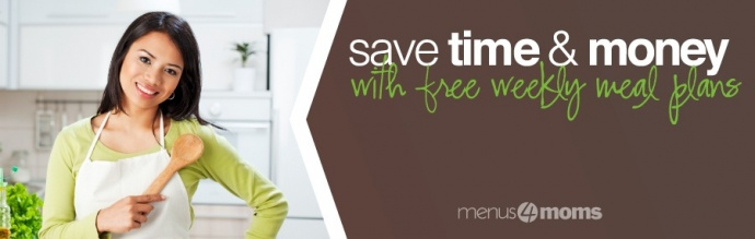 Free Weekly Meal Plans from Menus4Moms