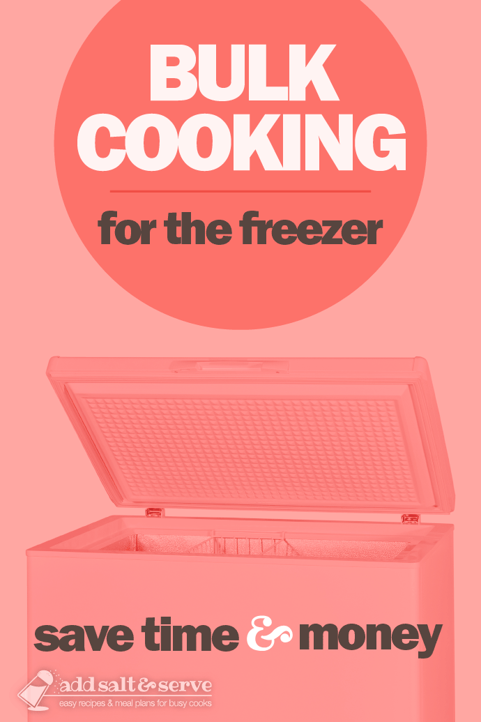 Bulk Cooking for the Freezer