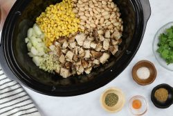 ingredients for slow cooker white chicken chili