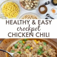 healthy and easy crockpot chicken Chili - Add Salt & Serve