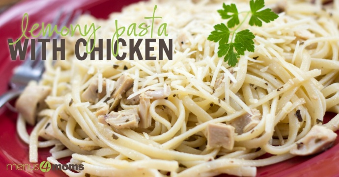 Lemony Pasta with Chicken