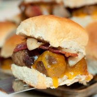 Barbecue Meatball Sliders