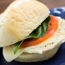 Turkey Caprese Sandwich