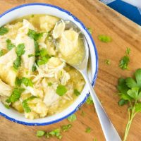 Easy Crockpot Chicken & Dumplings