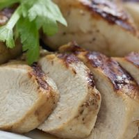 Grilled Chicken with Garlic Soy Marinade