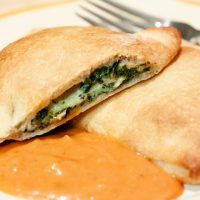 Shortcut Spinach Calzones