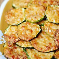 Parmesan Zucchini Rounds by Five Heart Home