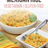 Two bowls of Restaurant Style Mexican Rice
