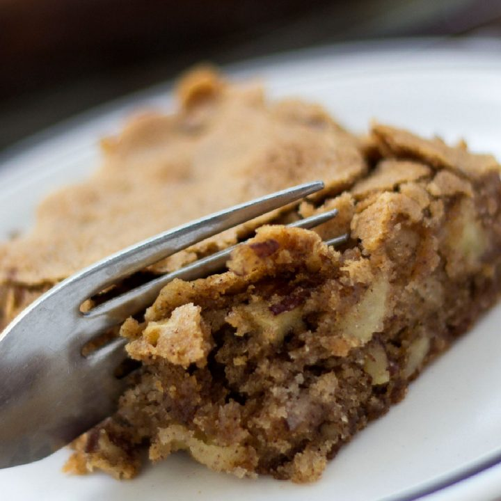 An Apple Walnut Bar