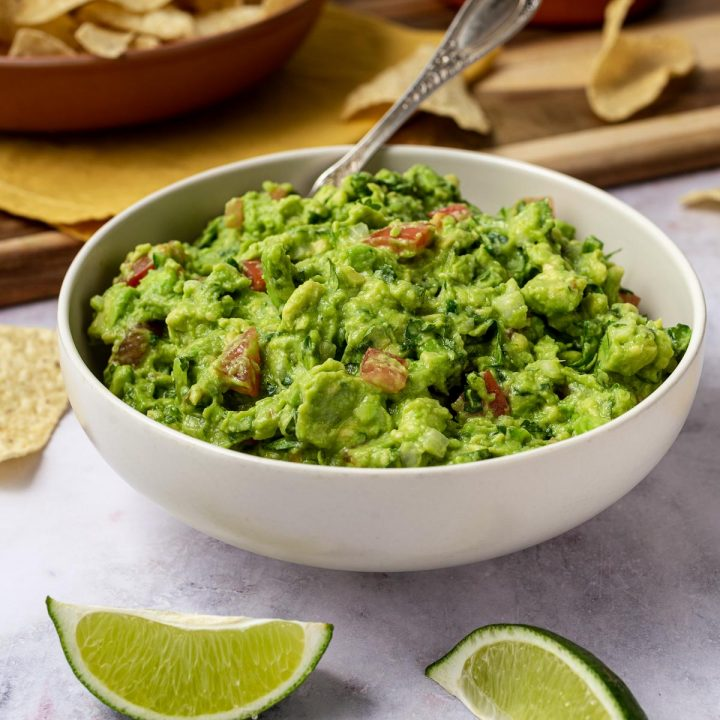 easy homemade guacamole without seasoning mix