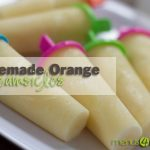 Homemade Orange Dreamsicles