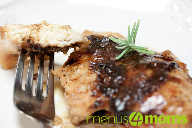Menus4Moms: Sweet Garlic Chicken