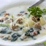 Menus4Moms: Zuppa Toscana recipe with Spinach and Italian Sausage