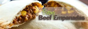 Easy Beef Empanadas for the Freezer