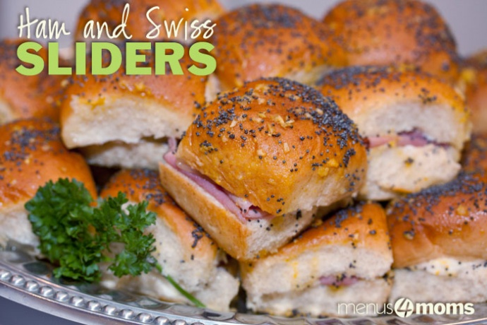 Add Salt & Serve: What to make with leftover ham - Ham and Swiss Sliders